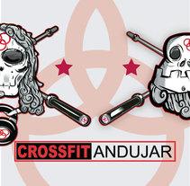 Crossfit Andujar ( Logo Gimnasio ). Un proyecto de Diseño gráfico de jose ramón puerto urios         - 26.12.2015