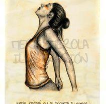 """""""Tu continente"""". Un proyecto de Ilustración, Música, Audio, Bellas Artes, Pintura, Tipografía y Caligrafía de Mere Merola         - 03.06.2015"""