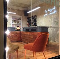 Reforma de local en Neükolln. Un proyecto de Diseño, Arquitectura, Diseño de muebles, Diseño industrial, Arquitectura interior, Diseño de interiores y Escenografía de Jesús Sotelo Fernández - 02-12-2015