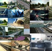 Animaciones de trabajos en arquitectura e ingenieria civil para las mejores empresas nacionales e internacionales. A 3D, Architecture, Game Design&Interior Architecture project by Javier  Pedragosa - 30-10-2015