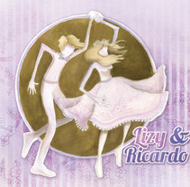 """Invitación Boda """"Baila conmigo"""". Un proyecto de Diseño gráfico e Ilustración de Isa Sandoval - Sábado, 28 de mayo de 2011 00:00:00 +0200"""