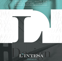 L'Intesa. A Design, Br, ing, Identit, Editorial Design, and Graphic Design project by Víctor  de Vicente - 04-01-2016