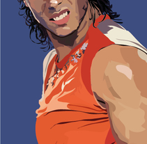 Go rafa! Digital. A Design, Illustration, Photograph, Fine Art, and Painting project by BORCH         - 06.01.2016