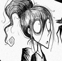 Ghibli X Burton. A Illustration, and Character Design project by Juan Bermúdez         - 30.07.2015