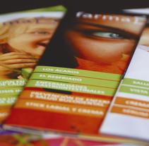 Revista farmàcia. Um projeto de Design gráfico de alba santamaria         - 07.01.2016