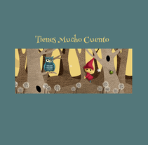 Bosque. Un proyecto de Desarrollo Web, Diseño interactivo e Ilustración de Eva Santos - Sábado, 09 de enero de 2016 00:00:00 +0100