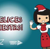 Felicitación navideña para Conocea. Motion Graphic.. Un proyecto de Diseño, Motion Graphics, Animación, Multimedia y Vídeo de Irène K. - 10-01-2016