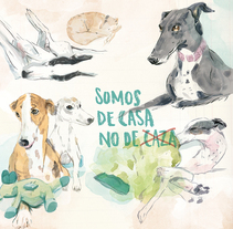 Calendario Cuarenta Patas 2016 (Febrero). A Illustration, Editorial Design, and Fine Art project by Carolina Jiménez Domínguez         - 10.01.2016