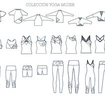 COLECCIÓN YOGA MUJER . A Fashion project by Noemi          info.noemifilgueira@gmail.com - 11-01-2016