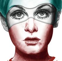 Twiggy. A Illustration project by Susana Bravo - 13-01-2016