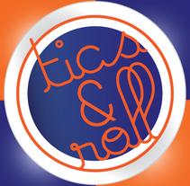 Tarjeta Navideña 2015 'Ticsandroll'. Um projeto de Design gráfico de Ticsandroll CB         - 21.12.2015