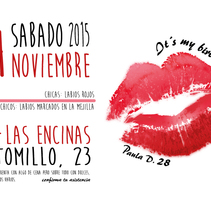INVITACIONES DE CUMPLEAÑOS. A Graphic Design project by PAULA DOMÍNGUEZ         - 15.11.2015