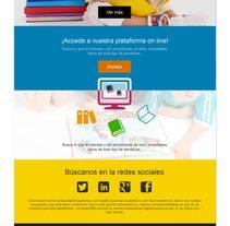 Design proposals for online libraryNuevo proyecto. Un proyecto de Diseño Web y Desarrollo Web de Esther Martínez Recuero - Martes, 20 de enero de 2015 00:00:00 +0100