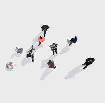 Siguiendo un patrón. Um projeto de Ilustração de pecasenlamirada Mar ortiz         - 25.01.2016