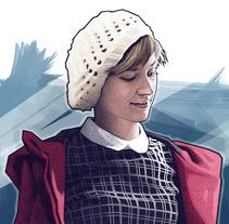 RED COAT. Um projeto de Ilustração de Dani Blázquez         - 26.01.2016