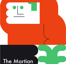 The Martian. A Design&Illustration project by Stereoplastika  - Jan 29 2016 12:00 AM