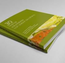 30 Menús saludables. Un proyecto de Diseño editorial y Diseño gráfico de Javier Leal - 31-01-2016