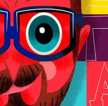 190º THE MAGAZINE - Nº23. Un proyecto de Ilustración y Diseño de personajes de Jhonny  Núñez - Miércoles, 03 de febrero de 2016 00:00:00 +0100