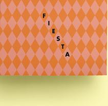 FIESTA. Un proyecto de Br, ing e Identidad y Diseño gráfico de María  Marco Medina - 03-02-2016