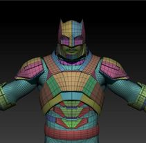 Batman Armored. A 3D project by Jonathan Vargas - 07-02-2016