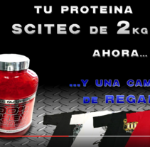 Vídeos promocionales para empresas - PROMOCIÓN SCITEC PROTEINA 5Lbs+CAMISETA DE REGALO . A Motion Graphics, Graphic Design, and Post-Production project by Luis Miguel Carreño Cutillas         - 08.02.2016