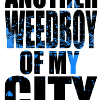 Logo #5 : Another Weedboy Of My City. A Design, Illustration, Costume Design, and Calligraph project by Benjaweed Tapia         - 15.02.2016