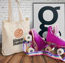Ginger Skates. Un proyecto de Br, ing e Identidad, Dirección de arte y Diseño gráfico de le  dezign - Viernes, 19 de febrero de 2016 00:00:00 +0100