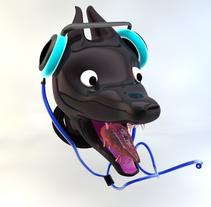 Cabeza de perro. A Design, Illustration, and 3D project by Laura Di Mascio Escribano         - 18.02.2016