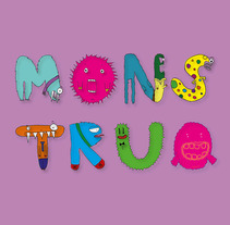 MONSTRUO . A Illustration, Character Design, and Graphic Design project by Ropi Mattos         - 18.02.2016