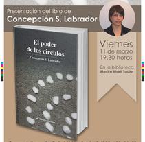 """Cartel e invitación  """"El poder de los círculos"""". A Design, and Graphic Design project by Sandra Quero         - 19.02.2016"""