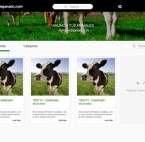 Market place mercadodeganado.com. Un proyecto de Desarrollo Web de Esther Martínez Recuero - Martes, 02 de febrero de 2016 00:00:00 +0100
