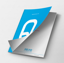 Informe Anual Aquae 2016. A Editorial Design&Information Design project by César Martín Ibáñez  - 06-03-2016