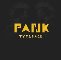 Typeface PANK. Um projeto de Ilustração, Animação, Direção de arte, Design gráfico e Tipografia de Adán Lobato Mínguez         - 05.03.2016