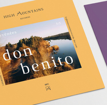 High Mountains Records. A Br, ing, Identit, Art Direction, Editorial Design, Graphic Design, Web Design, and UI / UX project by Jesús Román Ortega - 03.10.2016