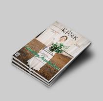 Revista KFOLK. A Editorial Design, and Graphic Design project by Carlos Perez         - 11.03.2016