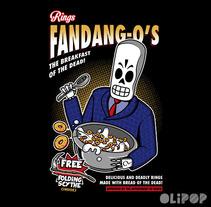 Rings FandangOs Cereals. Un proyecto de Ilustración y Diseño gráfico de Oliver Ibáñez Romero         - 13.03.2016