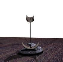 Jamonera de granito. Um projeto de Design, 3D e Design de produtos de María Bravo Guisado         - 13.03.2016
