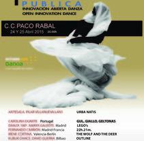 Cartel para Beta Publica 2015. Um projeto de Arte urbana de Alberto Jarana sanchez         - 14.03.2015