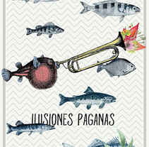 Onda Vaga: Ilusiones Pagans. A Art Direction project by Javi Sendra Guinea         - 15.03.2016