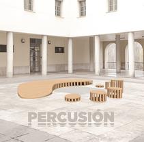 Percusión. Un proyecto de Diseño y Arquitectura interior de Comunicarsinpalabras          - 16.03.2016