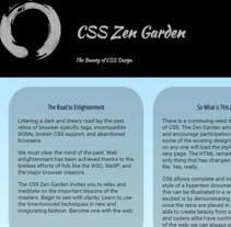 Zen Garden. Un proyecto de Diseño y Diseño Web de Ana Cuesta de la Torre         - 10.11.2015