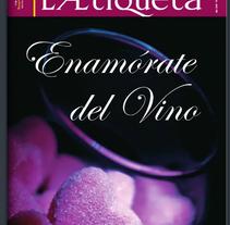 Maquetación Revista ´LA ETIQUETA´. A Graphic Design project by Elena  Ojeda Esteve - 18-07-2006
