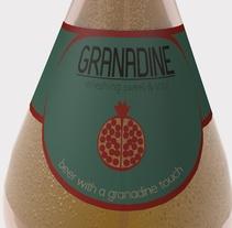 -GRANADINE BEER, Branding-. Un proyecto de Ilustración, 3D y Diseño de producto de Ramiro Cavil         - 20.03.2016