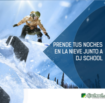 Velle Nevado - Dj School. A Design, and Art Direction project by Juan Pablo Rodas         - 06.08.2015