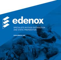 retroiluminaod para ferias edenox-asber. Un proyecto de Diseño, Diseño editorial y Diseño gráfico de Maria Aguilar Vallespir         - 12.09.2016