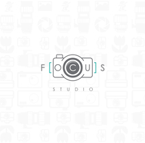 Estudio fotográfico Focus. A Illustration, Art Direction, Br, ing, Identit, and Graphic Design project by Felix Avendaño         - 04.04.2016