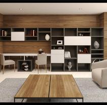 Mobiliario Cumbres. A Design, Photograph, 3D, Architecture, Interior Architecture&Interior Design project by Lourdes Rodriguez         - 29.09.2015
