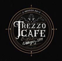 Trezzo Cafe. Un proyecto de Caligrafía de Alejandro Roldan         - 07.04.2016