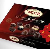 Valor Sueños de chocolate. Um projeto de Packaging de Jose Ribelles         - 13.04.2016