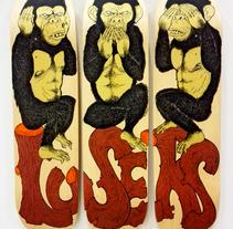 Losers . Un proyecto de Ilustración, Diseño de personajes y Bellas Artes de Javier Casado González - 31-03-2016